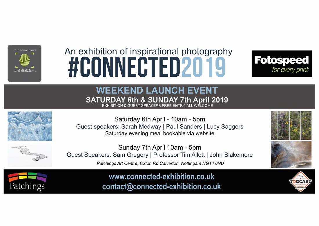 #Connected2019 Launch weekend poster