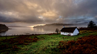 The fishermans cottage, Kilfinichen Bay, Mull by Chris Newham