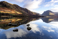 Buttermere Reflection by Dave Varo